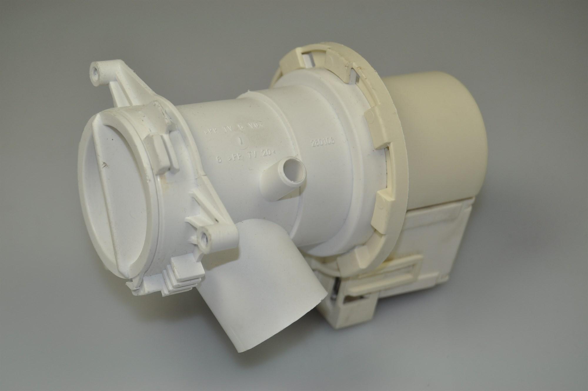 pumpe beko waschmaschine 4 stutzen am pumpengeh use. Black Bedroom Furniture Sets. Home Design Ideas