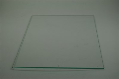Glasplatte vestfrost k hl gefrierschrank 4 mm x 455 for Glasplatte hinter herd